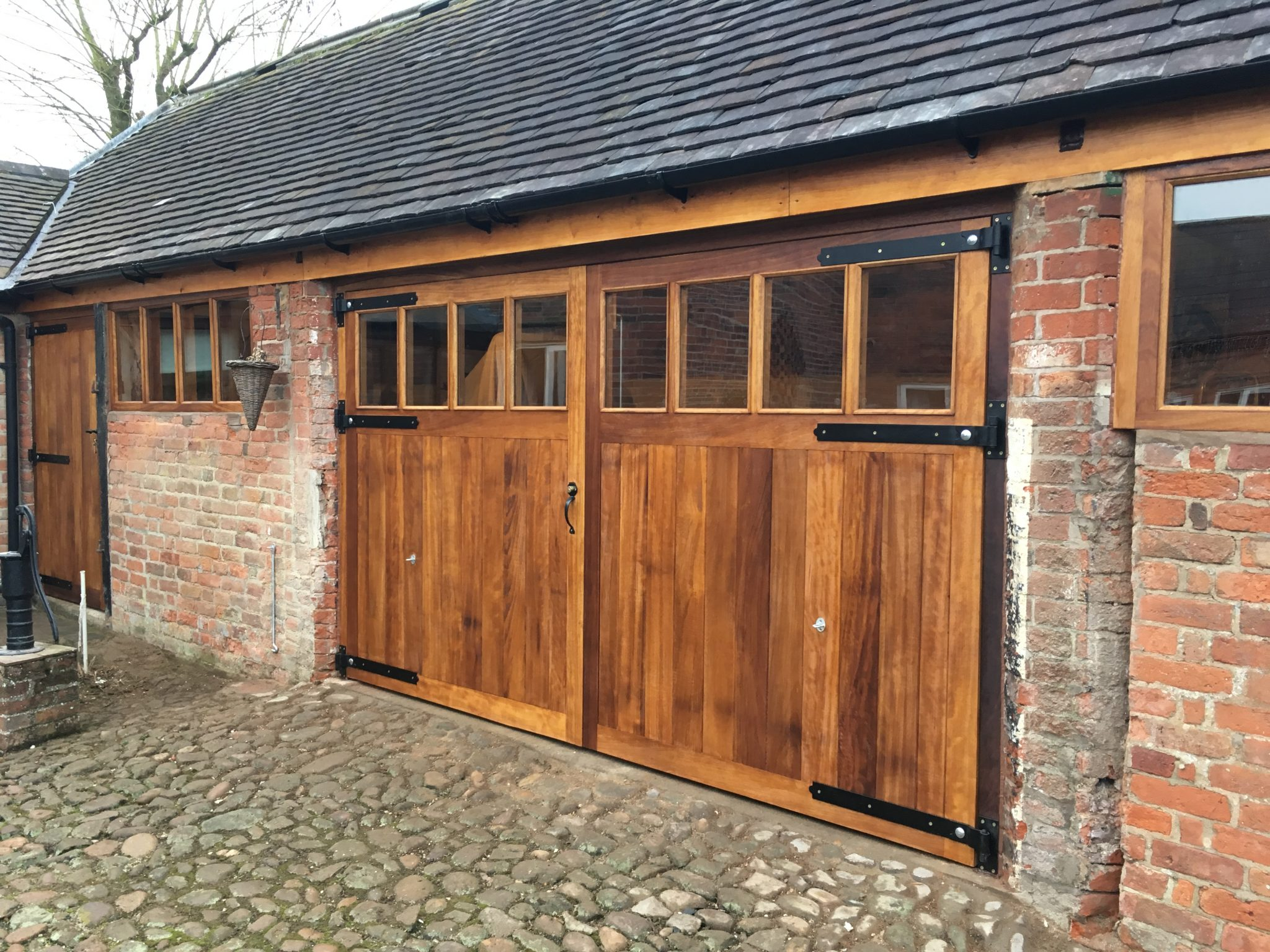 Iroko Barn Joinery