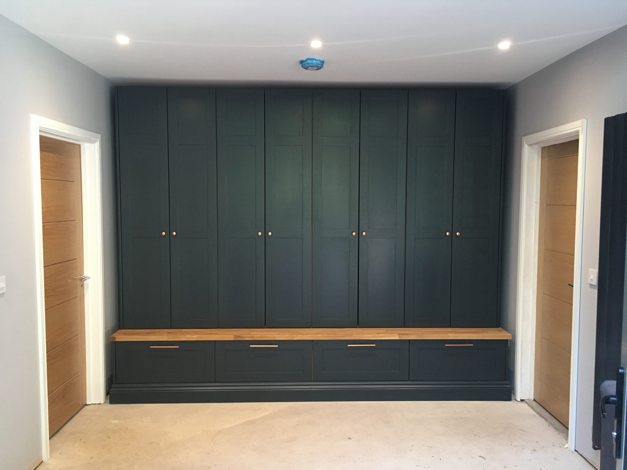 Fitted Hallway Storage Unit